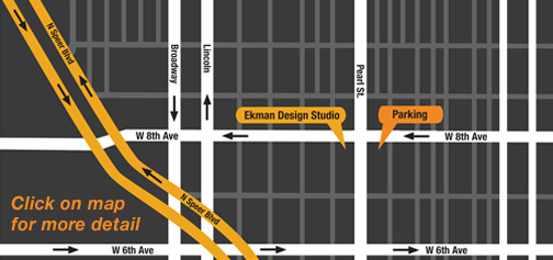 Ekman Studio Design Map